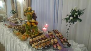 """Sala Bankietowa """"D"""" - stół deserowy"""