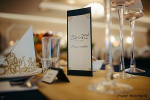 Dekoracja stołu - winietki