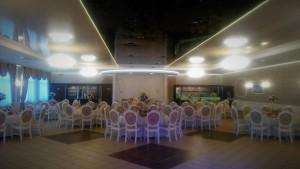 """Sala bankietowa """"D"""" - okrągłe stoły"""