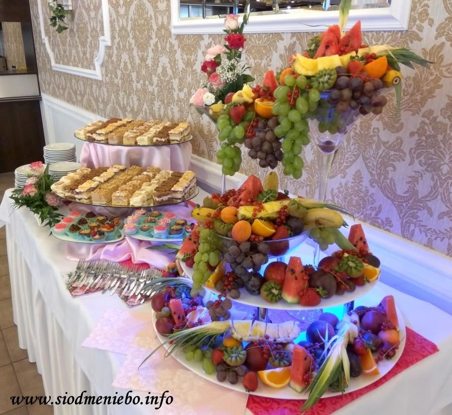 "Ciasto i owoce - Sala ""D"""